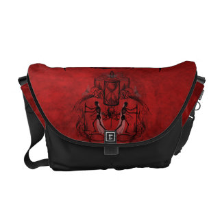 Falln Memento Mori Courier Bag