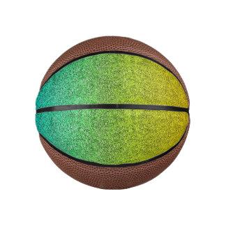 Falln Ocean Sunrise Glitter Gradient Basketball