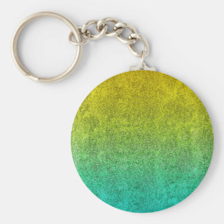 Falln Ocean Sunrise Glitter Gradient Keychain