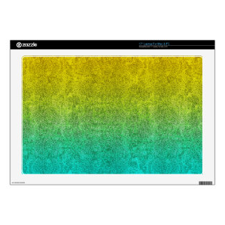 "Falln Ocean Sunrise Glitter Gradient Skin For 17"" Laptop"