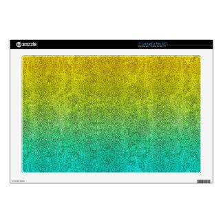 """Falln Ocean Sunrise Glitter Gradient Skin For 17"""" Laptop"""
