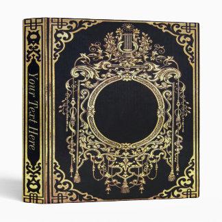 Falln Ornate Gold Frame (Perfect for a Monogram!) Binder