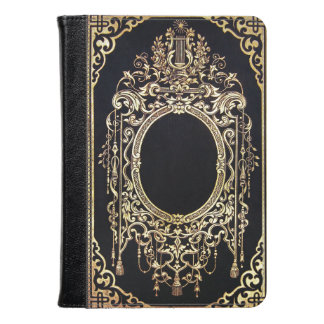 Falln Ornate Gold Frame (Perfect for a Monogram!) Kindle Case