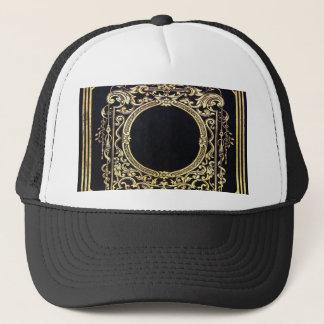 Falln Ornate Gold Frame (Perfect for a Monogram!) Trucker Hat