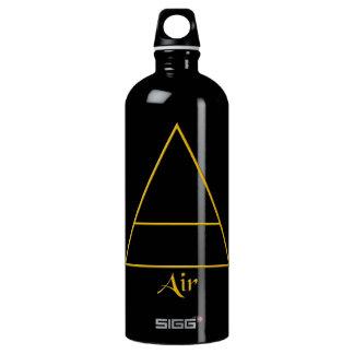Falln Pagan Air Element Symbol Aluminum Water Bottle