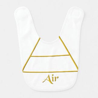 Falln Pagan Air Element Symbol Bib