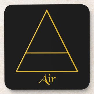 Falln Pagan Air Element Symbol Coaster