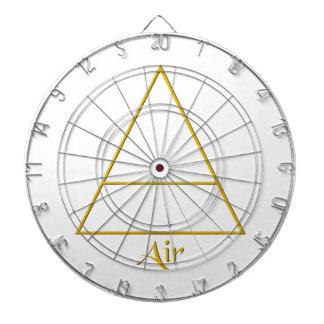 Falln Pagan Air Element Symbol Dartboard