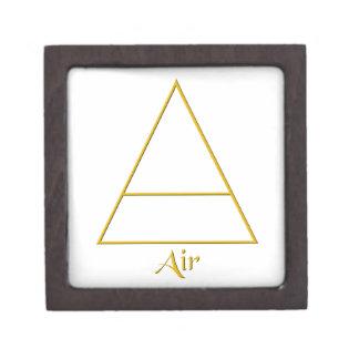 Falln Pagan Air Element Symbol Jewelry Box