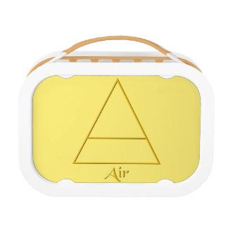 Falln Pagan Air Element Symbol Lunch Box