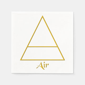 Falln Pagan Air Element Symbol Napkin