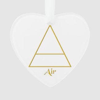 Falln Pagan Air Element Symbol Ornament