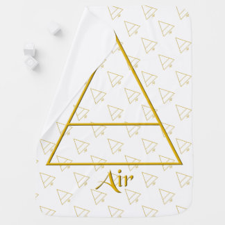 Falln Pagan Air Element Symbol Swaddle Blanket