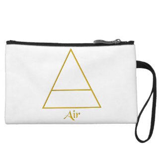 Falln Pagan Air Element Symbol Wristlet Wallet