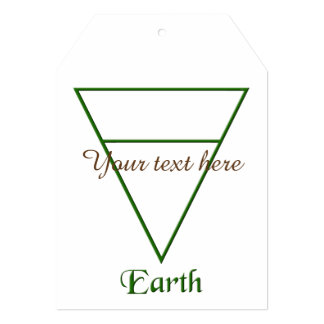 Falln Pagan Earth Element Symbol Card