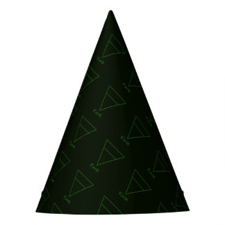 Falln Pagan Earth Element Symbol Party Hat