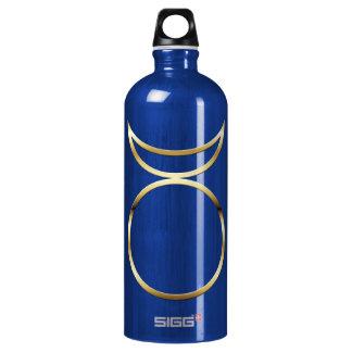 Falln Pagan Horned God Symbol Aluminum Water Bottle