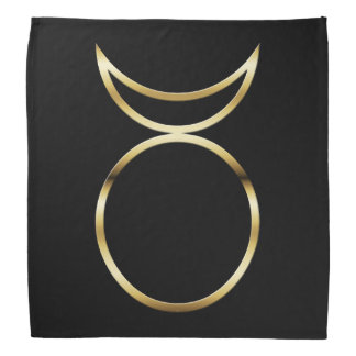 Falln Pagan Horned God Symbol Bandana