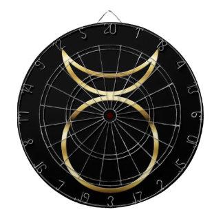 Falln Pagan Horned God Symbol Dartboard