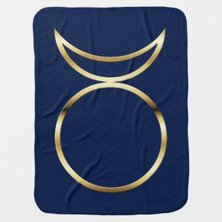 Falln Pagan Horned God Symbol Swaddle Blanket