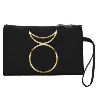 Falln Pagan Horned God Symbol Wristlet Wallet