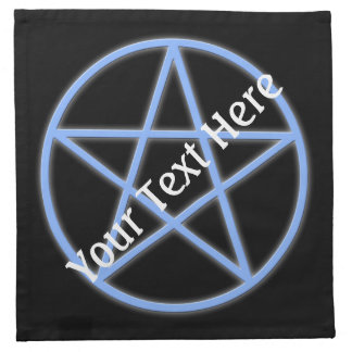 Falln Pagan Pentacle Cloth Napkin
