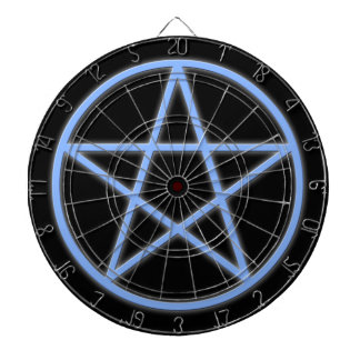 Falln Pagan Pentacle Dart Boards