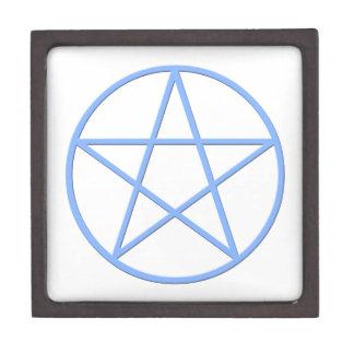 Falln Pagan Pentacle Keepsake Box