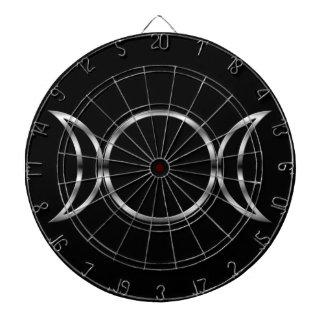 Falln Pagan Triple Goddess Symbol Dartboard