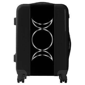 Falln Pagan Triple Goddess Symbol Luggage