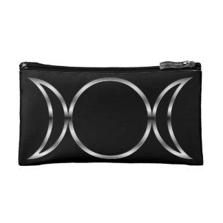 Falln Pagan Triple Goddess Symbol Makeup Bag