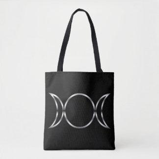 Falln Pagan Triple Goddess Symbol Tote Bag