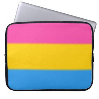 Falln Pansexual Pride Flag Computer Sleeves