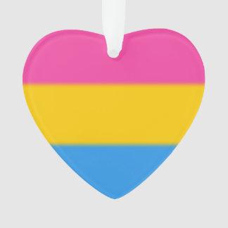 Falln Pansexual Pride Flag Ornament