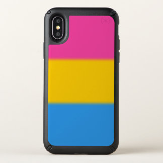 Falln Pansexual Pride Flag Speck iPhone X Case