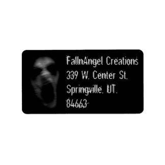 Falln Personal Address Label