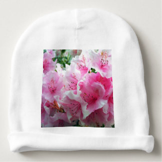 Falln Pink Floral Blossoms Baby Beanie