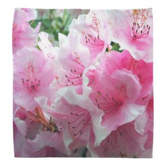 Falln Pink Floral Blossoms Bandana