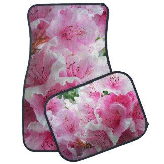 Falln Pink Floral Blossoms Car Mat