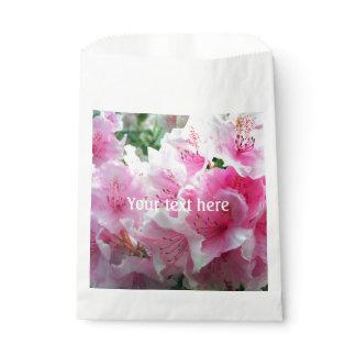Falln Pink Floral Blossoms Favor Bag