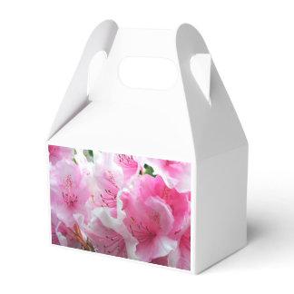 Falln Pink Floral Blossoms Favor Box