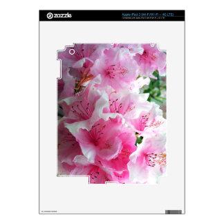 Falln Pink Floral Blossoms iPad 3 Skin