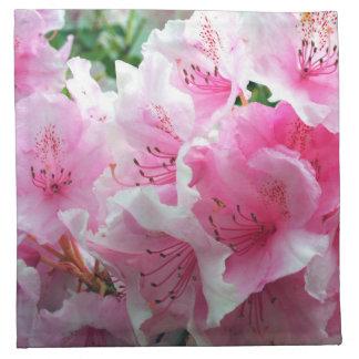 Falln Pink Floral Blossoms Napkin