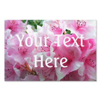 Falln Pink Floral Blossoms Sign