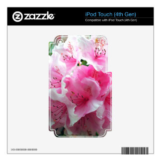 Falln Pink Floral Blossoms Skins For iPod Touch 4G