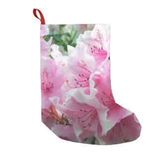Falln Pink Floral Blossoms Small Christmas Stocking