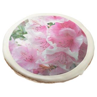 Falln Pink Floral Blossoms Sugar Cookie
