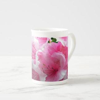 Falln Pink Floral Blossoms Tea Cup