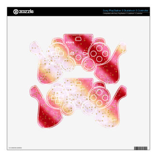 Falln Pink Sakura Sunrise PS3 Controller Decal