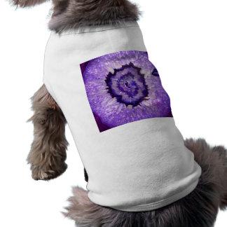 Falln Purple Agate Geode T-Shirt